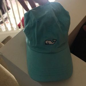 Vineyard vines hat,  if washed would look great!